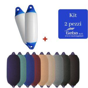 Kit Parabordi Majoni F1 più calze copriparabordi per barca offerta 2 pezzi