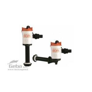 Ossigenatori SeaFlo per vasche del pescato con attacco dritto e a gomito. Facilmente smontabili per la pulizia.