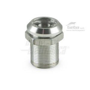 Faretto Led da incasso rotondo - 1W - 350mA - Alluminio - bianco naturale