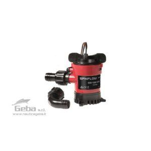 Le pompe Cartridge incorporano alcune delle funzionalità più avanzate del settore, caratteristiche sviluppate nel servizio di una vasta gamma di usi come crociera, lavoro, pesca sportiva e professionale. Le pompe 500 GPH, 750 GPH e 1000 GPH sono dotate di scarico Dura-Port per eliminare eventuali danni causati da fascette di serraggio troppo strette. Le pompe sono fornite di entrambi i raccordi Dura- Port dritto e a gomito 90°, oltre che di una valvola di non-ritorno amovibile.