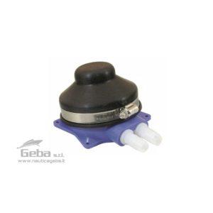 Pompa a pedale per lavelli.