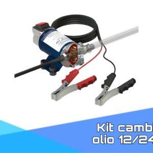 Kit cambio olio 12/24V