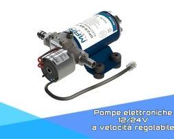 Pompe elettroniche 12/24V a velocità regolabile