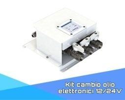 Kit cambio olio elettronici 12/24V
