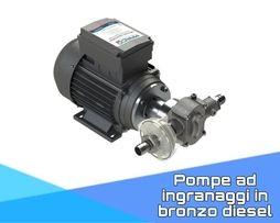 Pompe ad ingranaggi in bronzo Diesel