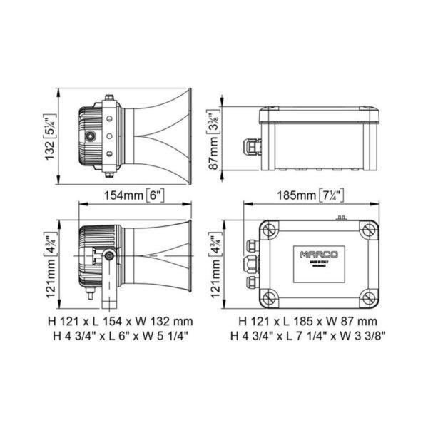 EMH-2-Fischio-elettronico-per-barca-con-2-altoparlanti-microfono-sirena