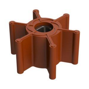 IMP2V-Girante-in-gomma-FKM-per-UP1-J-per-pompe-barca-nautica