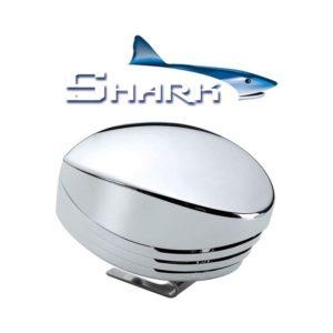 SHARK-tromba-singola-cromata