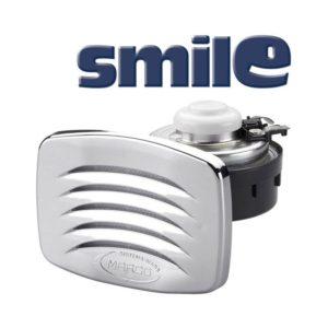 SMILE-Tromba-a-incasso-con-griglia-cromata