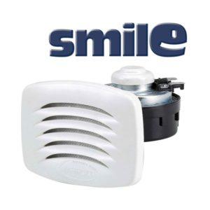 SMILE-Tromba-incasso-con-griglia-bianca