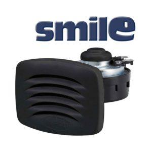 SMILE-Tromba-incasso-con-griglia-nera