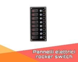 Pannelli elettrici Rocker Switch