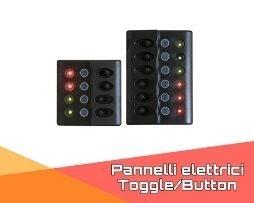 Pannelli elettrici Toggle/Button