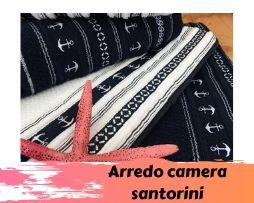 Arredo camera Santorini