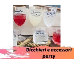 Bicchieri e accessori party