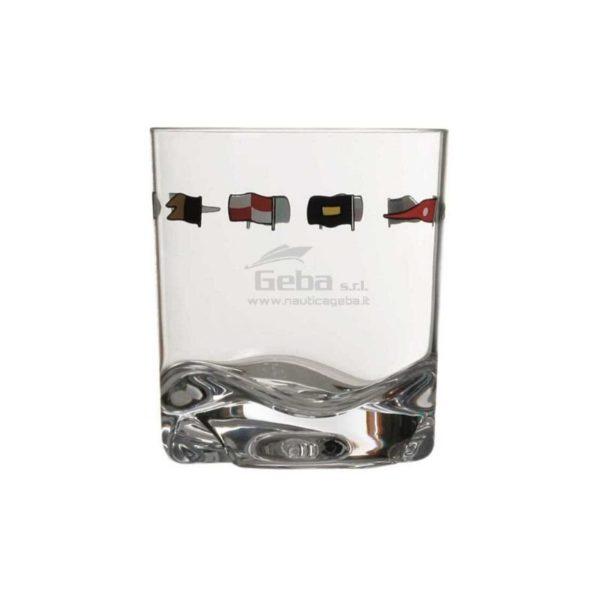 Bicchieri per barca a vela Marine Business 6 pezzi regata