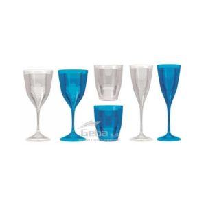 Bicchieri per barca e calici Fresnel Line in Polycrystal
