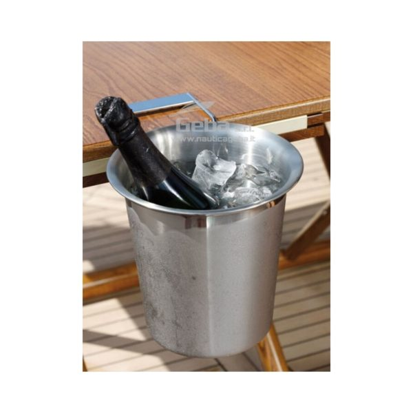 Champagnera termica con supporto per il tavolo secchiello marine business