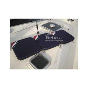Cuscino nautico estendibile Navishell per barca 45 x 45 cm blue navy