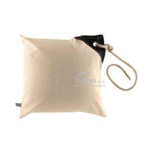 Federa cuscino antivento waterproof impermeabile 40x40 bianco
