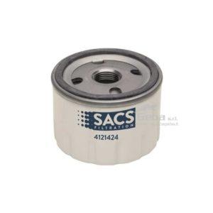 Filtro olio SACS 22057107 per motori volvo penta