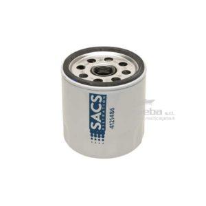 Filtro olio Sacs35-883702Q per motore marino Mercury v-6