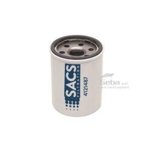 Filtro olio Sacs35-8M0065103 motori fuoribordo 4 tempi
