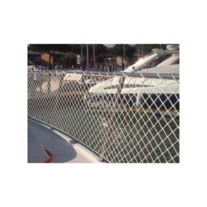Rete per battagliola barca H 600 mm in Poliestere 100% saldata