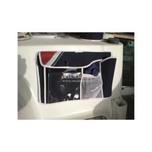 Sacca portaoggetti, porta oggetti per pozzetto 46 x 30 cm blue navy