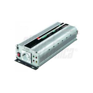 Inverter Onda Sinusoidale modificata 1000W Ingresso 12Vdc o 24Vdc, Uscita 230Vac
