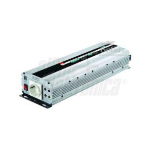 Inverter Onda Sinusoidale modificata 1500W Ingresso 12Vdc o 24Vdc, Uscita 230Vac