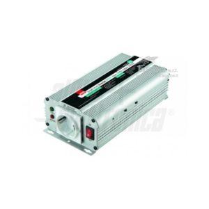Inverter Onda Sinusoidale modificata 600W Ingresso 12Vdc o 24Vdc, Uscita 230Vac