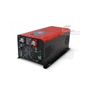 Inverter Onda pura con carica batteria 2000W Ingresso 12Vdc o 24Vdc, Uscita 230Vac uso nautico