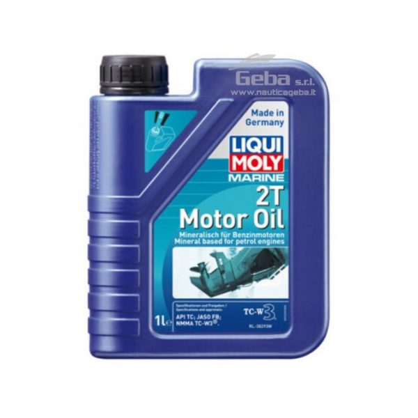 Marine 2T Motor Oil, olio motore per motori nautici 2 tempi 1 l