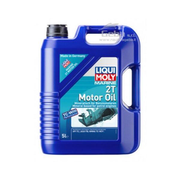 Marine 2T Motor Oil, olio motore per motori nautici 2 tempi 5 l