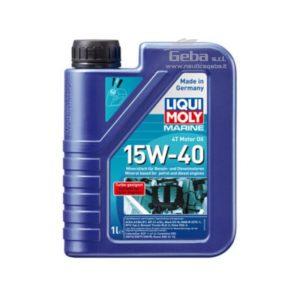 Marine 4T Motor Oil 15W-40, olio motore nautico 4 tempi 1 L