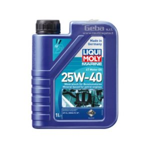 olio motore fuoribordo 4 tempi 25W-40