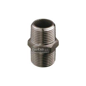 Nipple maschio-maschio acciaio inox per barca idraulica 1