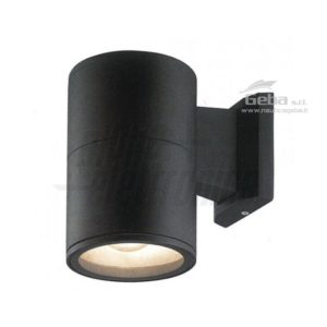 Supporto grigio per lampada led - E27