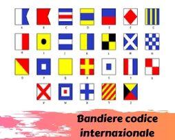Bandiere segnalazione codice internazionale