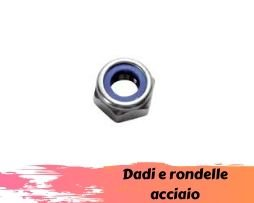 Dadi e rondelle acciaio