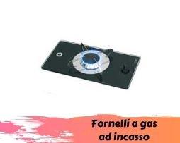 Fornelli a gas ad incasso