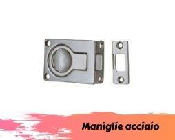 Maniglie nautiche acciaio