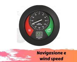 Navigazione e wind speed