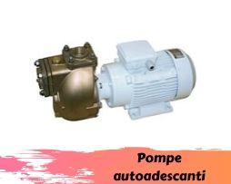 Pompe autoadescanti