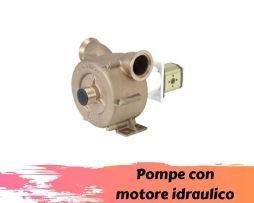 Pompe con motore idraulico