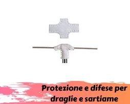 Protezioni e difese per draglie e sartiame