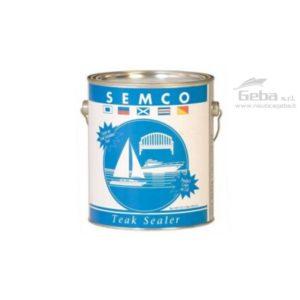 Protettivo olio teak Semco Teak Sealer protezione-legno e teak contro raggi uv intemperie scolorimento e trattamento impermeabile uso nautico da barca