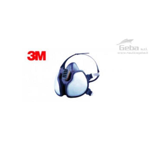 respiratori gas e vapori 3m omologati accessori manutenzione pulizia barca nautica protezione individuale