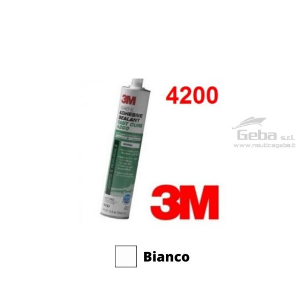 sigillante 3M 4200FC adesivo esterni barca uso nautica poliuretanico bianco